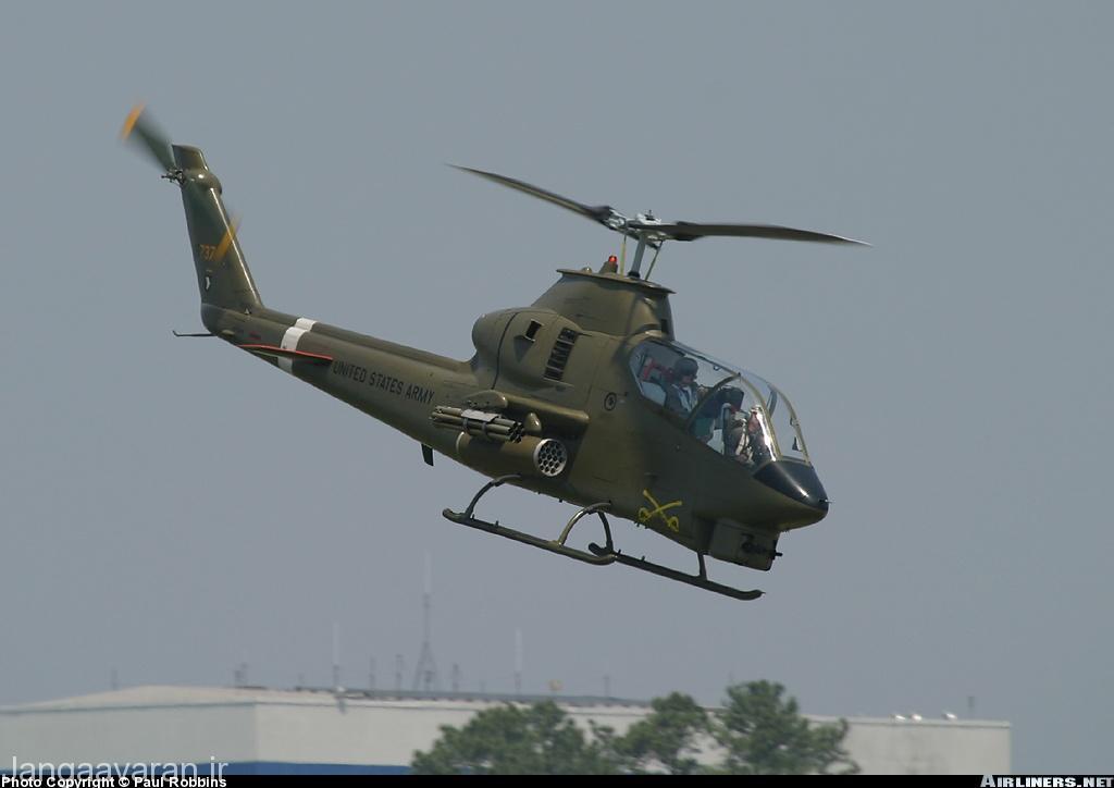 AH-1G هیویی کبرا نخستین نسخه عملیاتی کبرا در نیروی زمینی در ویتنام