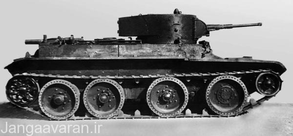 بی تی تانک را باید جد بزرگ تی34 دانست که با نگاهی به شکل این تانک تی34 شکل گرفت