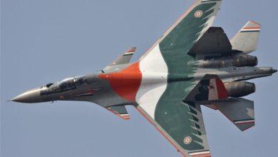 سوخوی30 ام کا آ هندی مجهز به کانارد در جلو برای کنترول زاویه حمله و خروجی متغیر همکنون پیشرفته ترین جنگنده ارتش هند است