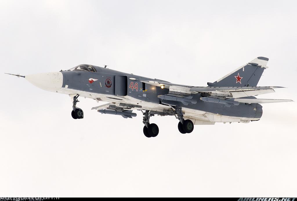 سوخوی24 ام 2 ارتش روسیه