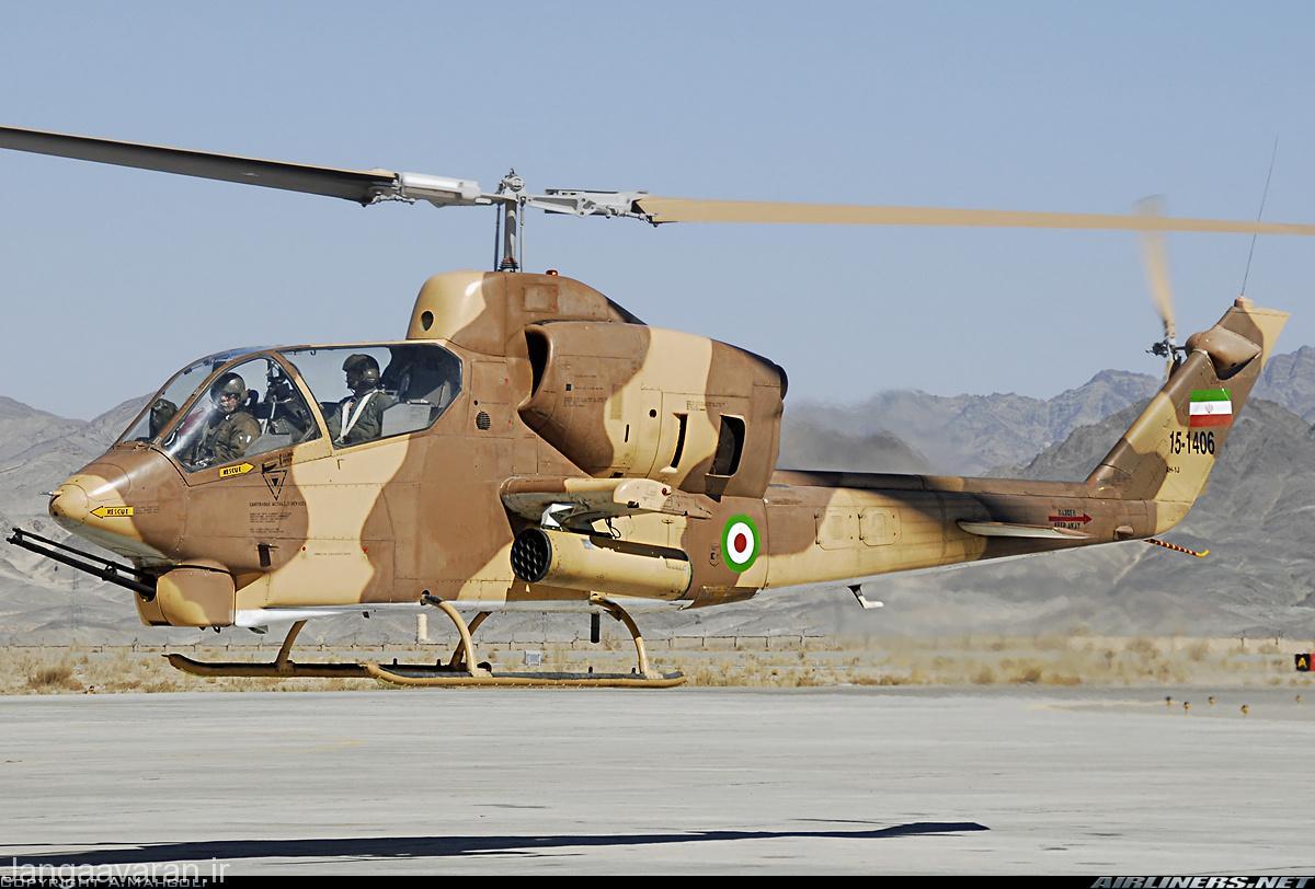 AH-1J سی کبرا متعلق به نیروی زمینی ارتش