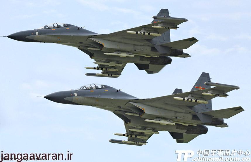 سوخوی30 ام کاکا ارتش چین در حالی که مجهز به موشک ار 77 و ار 73 و غلاف جنگ الکترونیک بر روی سر بالها است. از قرار معلوم چین نسخه بومی ان را با نام جی 16 توسعه داده است