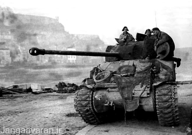 شرمن انگلیسی(فری فلی) به دلیل توپ 76.2م م برترین نسخه شرمن در جبهه فرانسه بود.خدمه اگر میتوانستد از دو ویژگی این نمونه یکی چالاکی و سرعت بالای دهانه توپ استفاده کنند برتر از تانکهای المانی بودند