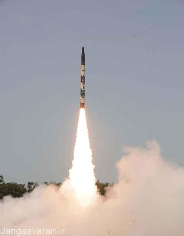 موشک های بالستیک هند