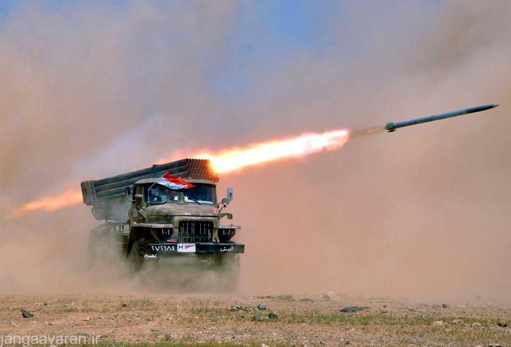راکت 122 میلیمتری BM-21(گراد )