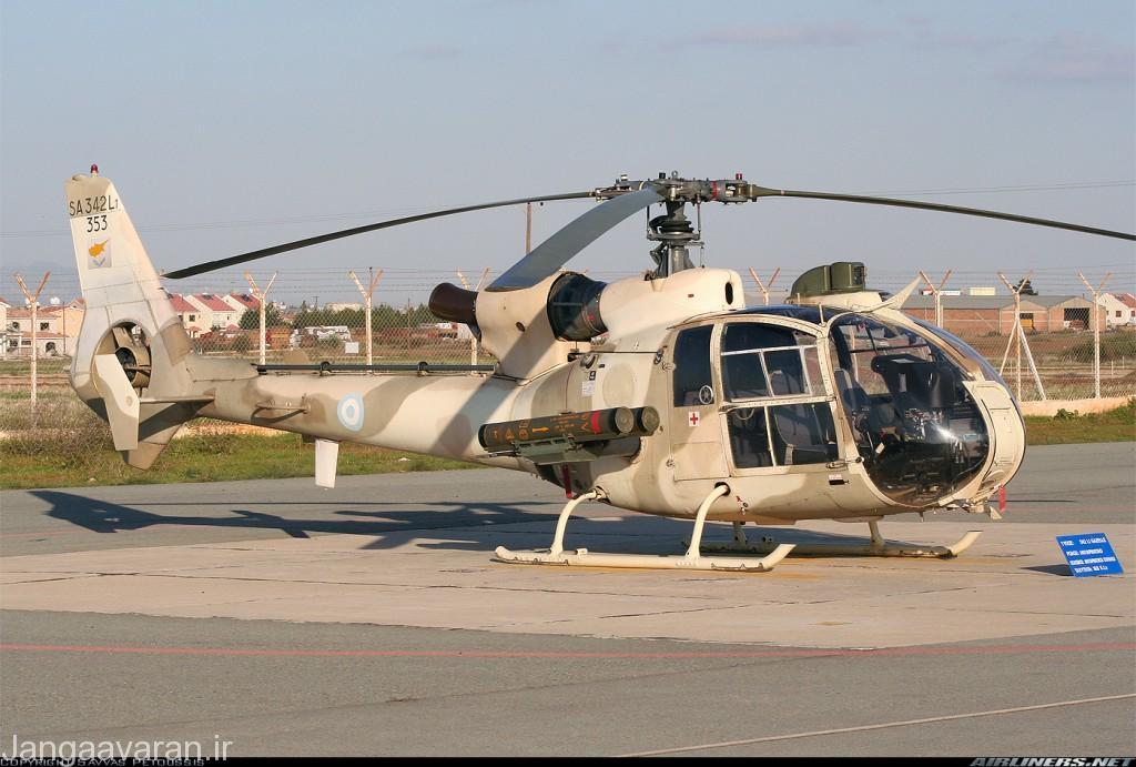 گازل ارتش قبرس مسلح به موشک هات