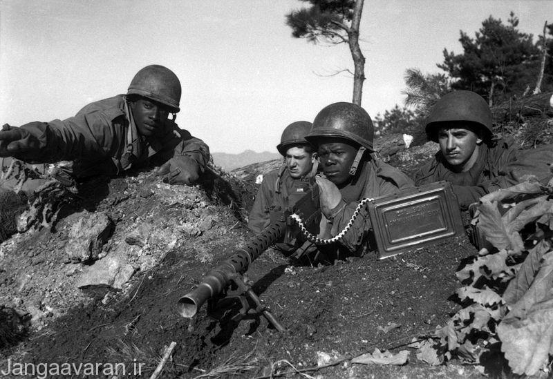 اولین سربازان امریکا در کره که به دسته اسمیت ملقب بودند