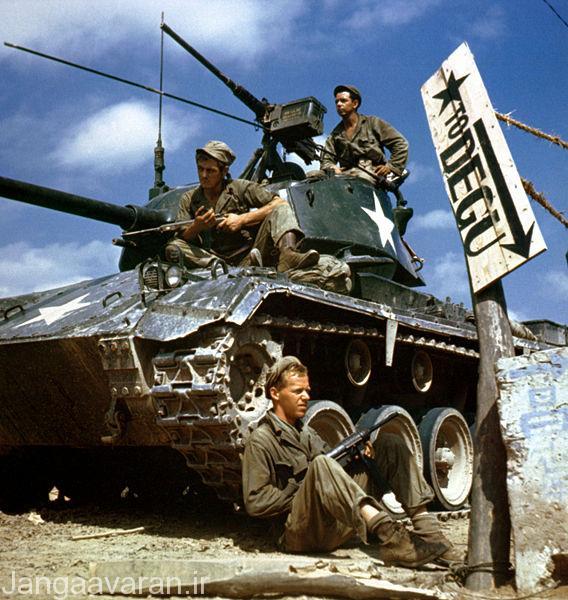 خدمه تانک ام 24 ارتش امریکا سال 1950. قرار نیست شکست برای امریکا تا ابد ادامه داشته باشد