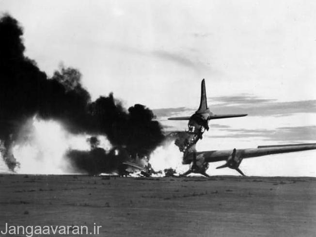 نابودی یک سی 54 در فرودگاه کیمپو در کره جنوبی در اتش میسوزد. در جند ماه نخست جنگ عدم کارایی ارتش کرخ جنوبی باعث از دست رفت 90 درصد کشور شد