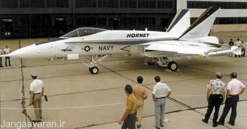 اولین پیش نمونه اف18(وای اف18)در سال 1978