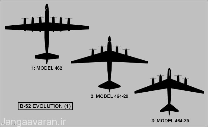 سه طرح اولیه که بوئینگ به نیروی هوایی پیشنهاد داد