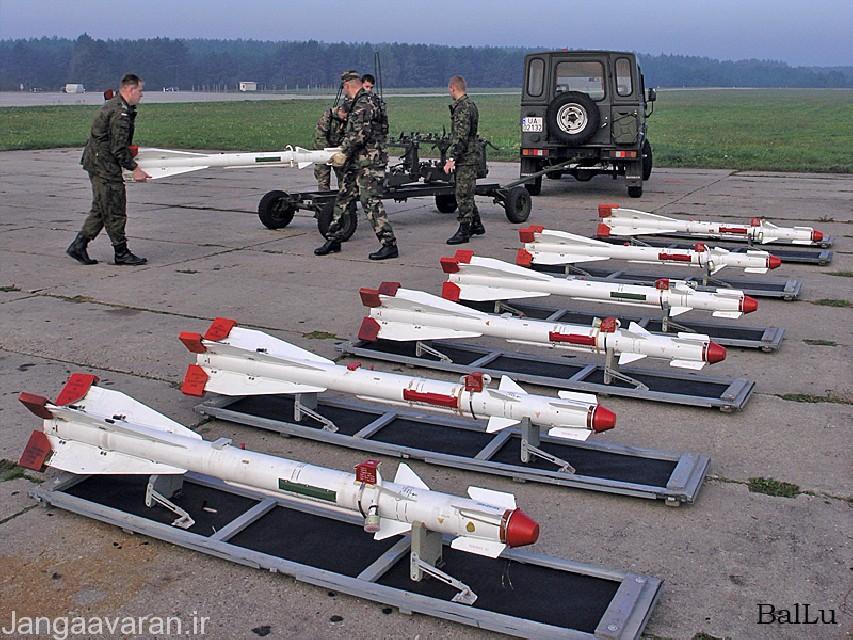 سبکترین موشک هوا به هوای جهان موشک ار60