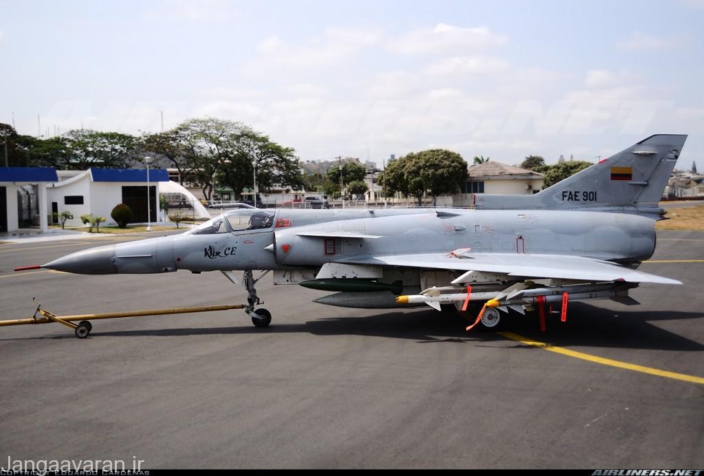 کفیر سی ایی(سی10)ارتش اکوادور مجهز به موشک فروسرخ اسرائیلی پینتون 3 و 4