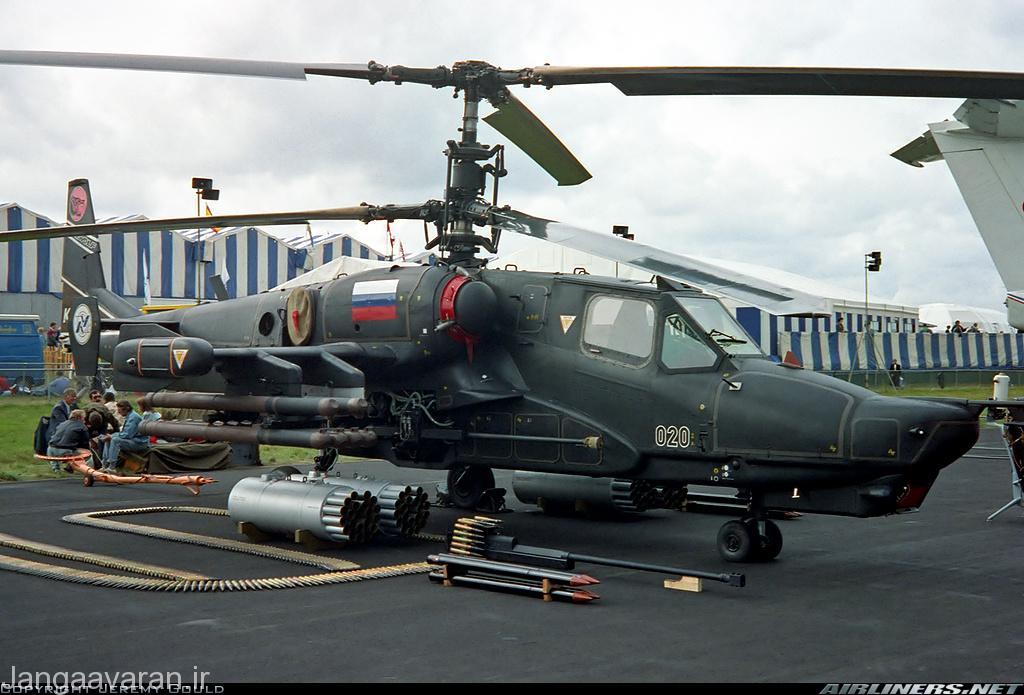 تسلیحات کاموف50 شامل راکت بی8(روی زمین )و موشک ویخر