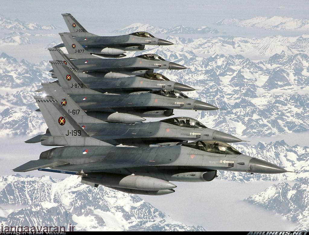بعد از اف104 بزرگترین برنامه خرید یک جنگنده به اف16 بر میگردد. اف16 میراژ اف1 را در رقابت ناتو شکست داد تا برای چهار دهه بعد اصلیترین جنگنده بسیاری از کشورهای عضو ناتو باشد.