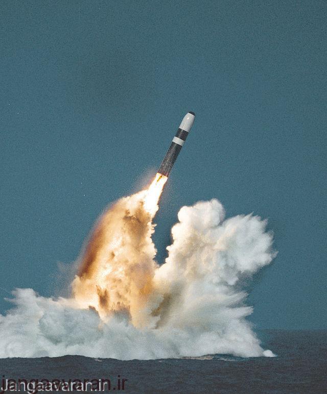 موشک ترایدنت 2 سلاح اتمی موثر کلاس زیر دریایی اوهایو