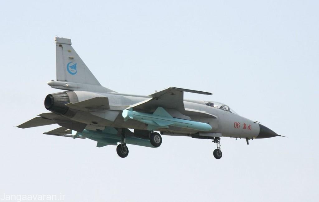 جی اف17 مسلح به دو تیره موشک ضد کشتی سی 802
