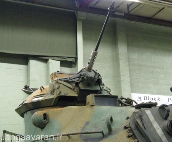 برجک کوچک مسلسل 12.7 م م و در جلوی اون سایت اتش