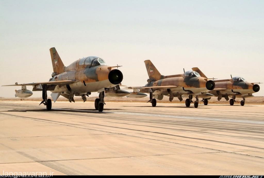 تصویری از اف7 ان و تی اف7 ان نیروی هوایی ایران.نسخه ایرانی برگرفته شده از نسخه ام ولی با تجهیزات چینی به جای غربی هستند