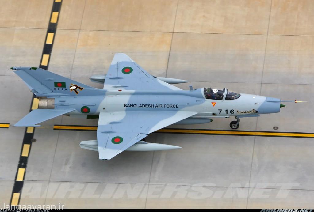 اف7 BGI پیشرفته ترین نسخه موجود اف7 برای نیروی نیروی هوایی بنگلادش