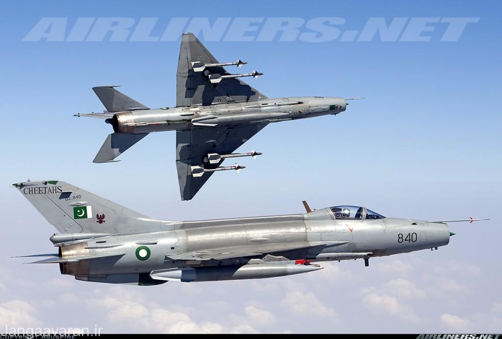 اف 7 پی جی ارتش پاکستان. پاکستان بزرگترین مشتری اف7 است