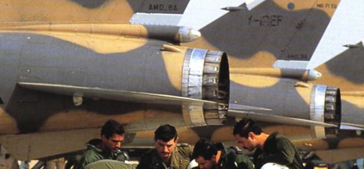 میراژ اف-1 در جنگ با ایران