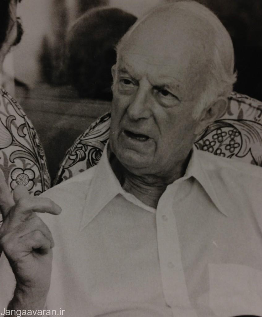 فیتز روی مکلین در 1983 در دوران بازنشستگی
