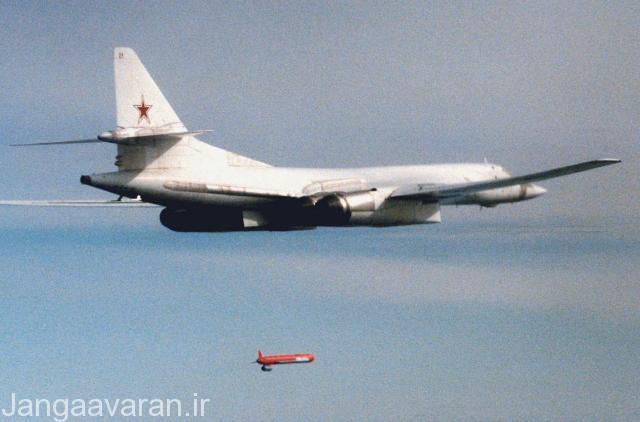 تست موشک خا 555 نسخه متعارف خا 55 از توپلوف 160