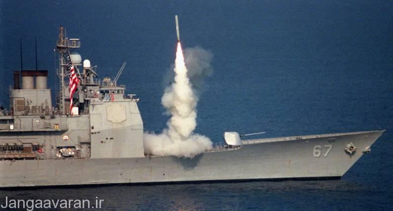 پرتاب تاماهاک از سیلوی عمود مارک 41