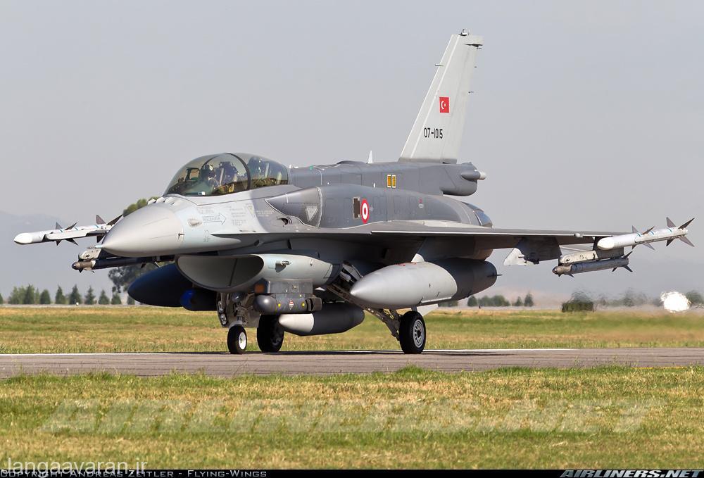 اف16 دی بلوک 52+ نیروی هوایی ترکیه