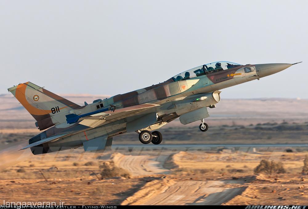 F16I ارتش اسرائیل.