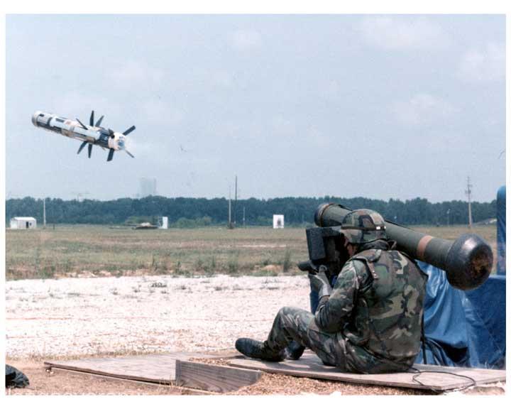 موشک ضد تانک جاولین