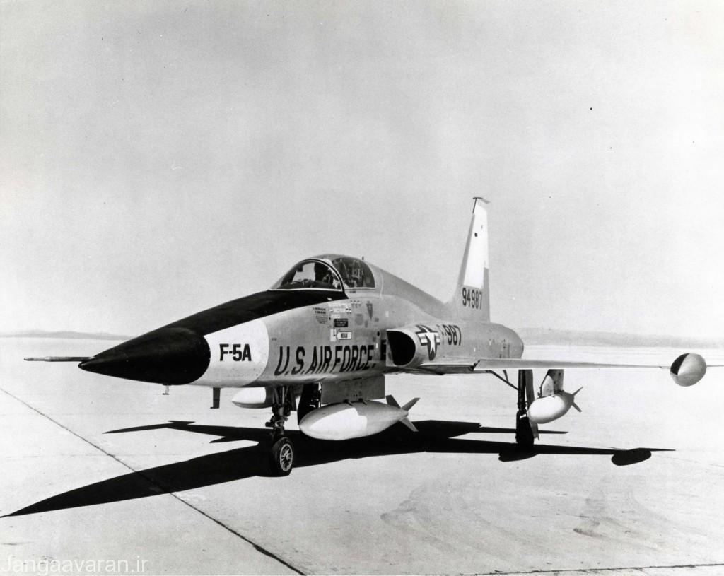 وای اف 5 ای پیش نمونه اف5 ای