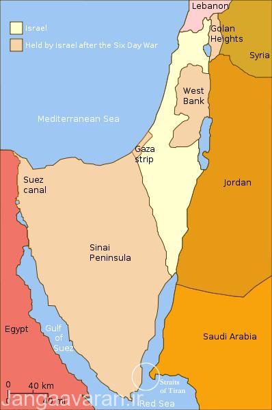 جنگ سال 1967 اعراب و اسرائیل