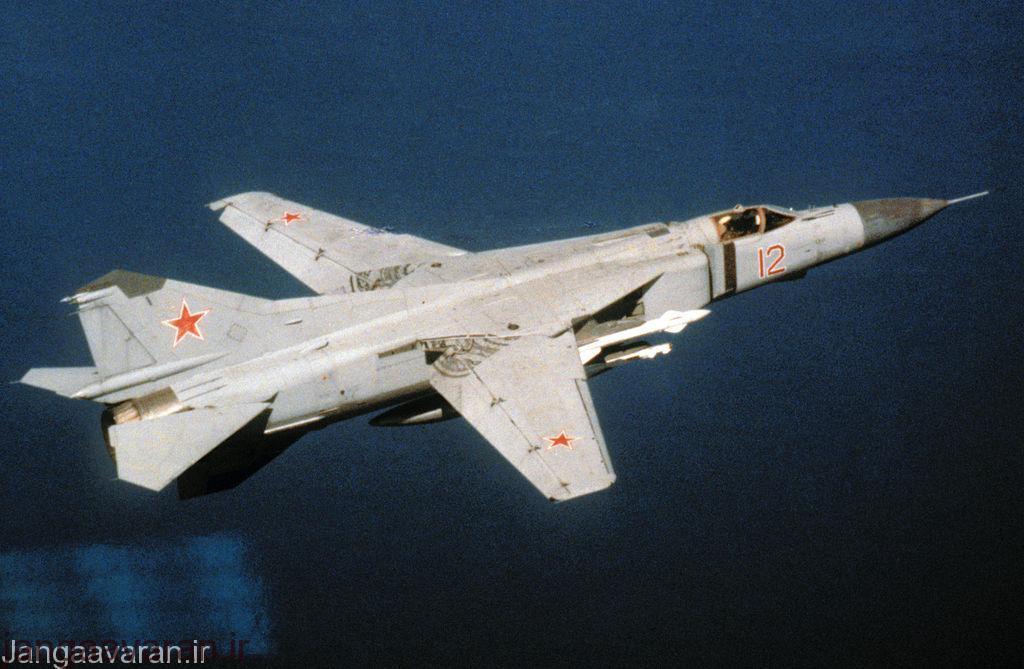 میگ23 ام ارتش شوروی ...