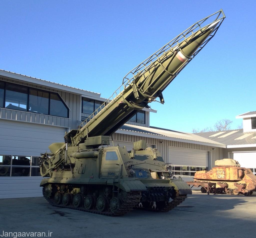 اسکادA اولین نسخه موشک اسکاد سوار بر شاسی تانک استالین