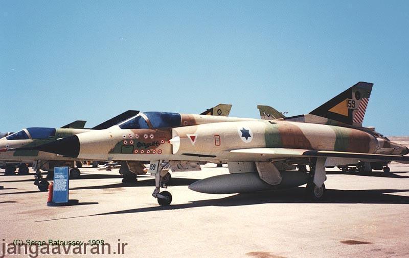 یک میراژ 3 سی ارتش اسرائیل که این یکی را از پر افتخار ترین جنگنده ها بعد جنگ جهانی است و نشان 13 پیروزی هوای بر روی ان است