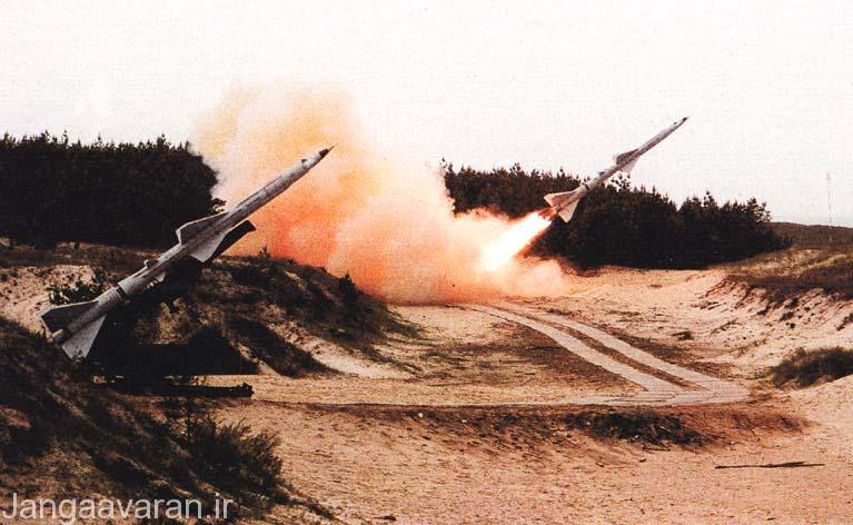 دو لانچر مربوط به سامانه سام-2؛ این سامانه که به تعداد انبوه در اختیار پدافند عراق بود به علت ضعف های عظیم در برابر جنگ الکترونیک نیروهای ائتلاف, کاری از پیش نبرد