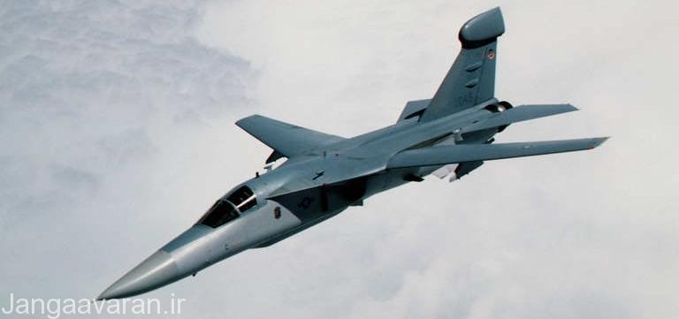 تصویر یک EF-111 آمریکایی. اف-111 در سرکوب پدافند عراق نقش کلیدی را بر عهده داشتند