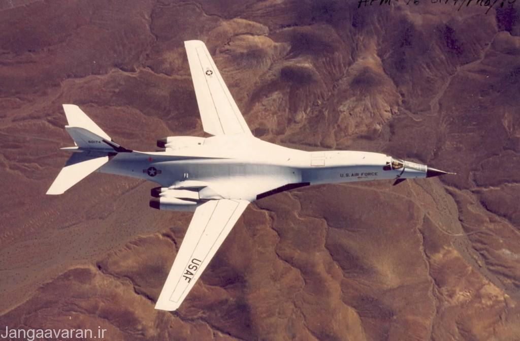 ب1 ای نخستین نمونه ب1 که تنها چهار فروند از ان ساخته شد
