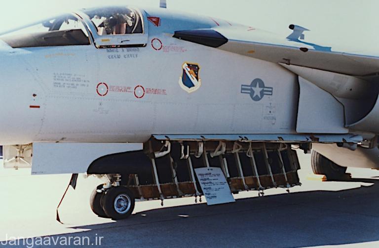 جایگاه نصب ترنزمیترها در اف-111