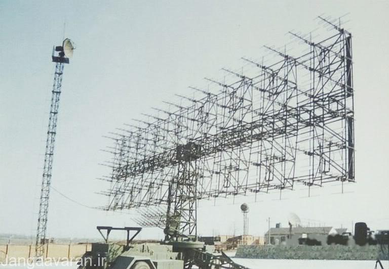 تصویری از رادار Nebo که از فرکانس VHF استفاده می کند.آمریکایی ها هرگز گمان نمی کردند که سامانه های پدافندی قدیمی روسی قادر به کشف و انهدام بمب افکن های پنهانکار اف-117 باشند