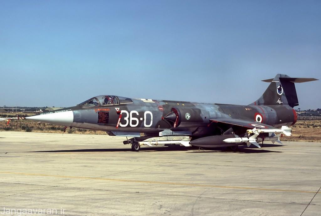 اف104 اس ای اس ای مسلح به اسپارو