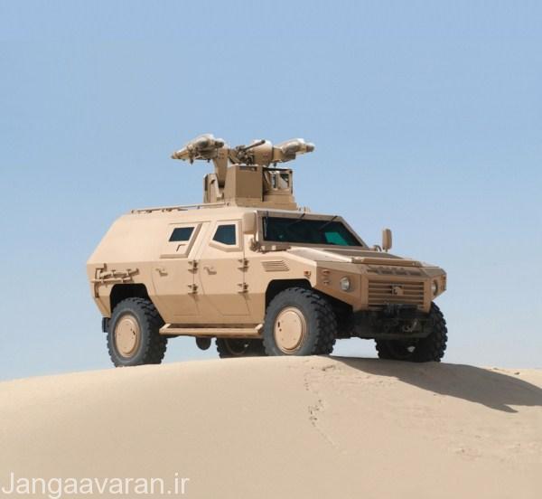 سامانه MPCV ترکیبی از میسترال و مسلسل 12.7 م م