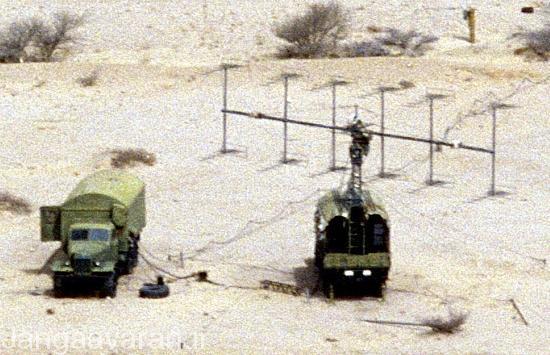 تصویری از یک رادار Spoon Rest , صرب ها توانستند با بکار گیری این رادار 3 بعدی که از فرکانس های VHF برای کشف اهداف استفاده می کرد؛ یک اف-117 آمریکایی را منهدم کنند.
