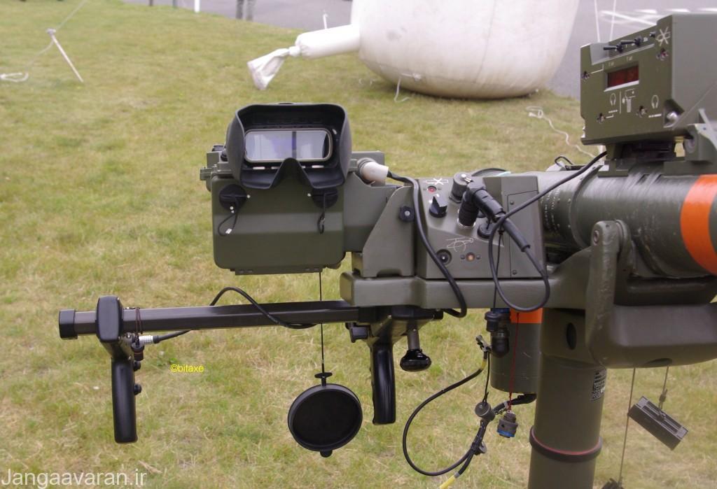 لانچر میسترال 2 مجهز به سامانه دید حرارتی