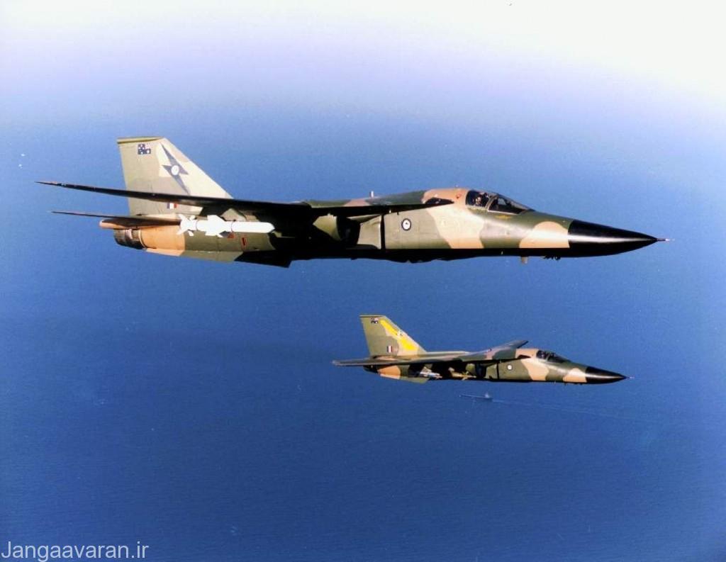 اف111 سی نیروی هوایی استرالیا مسلح به بمب لیزری و موشک هارپون