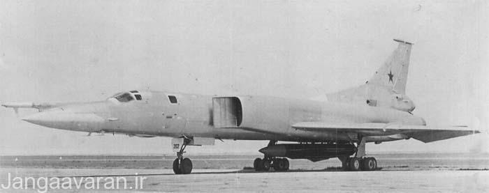 توپلوف22 ام0 نخستین پیش نمونه بک فایر