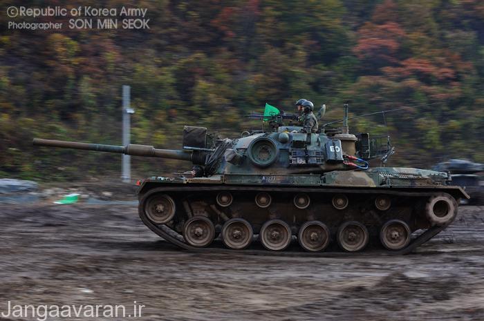 ام 48 ای 5 کا2 ارتقا یافته ارتش کره جنوبی