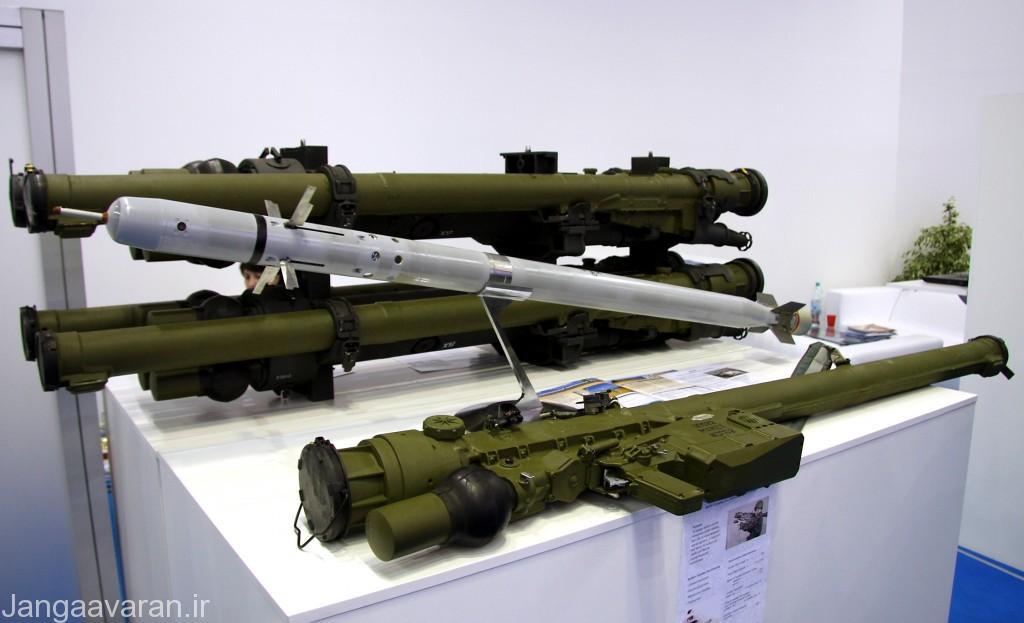 یک سامانه دوش پرتاب سام-18 (ایگلا) روسی